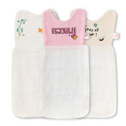 粉色字母吸汗巾