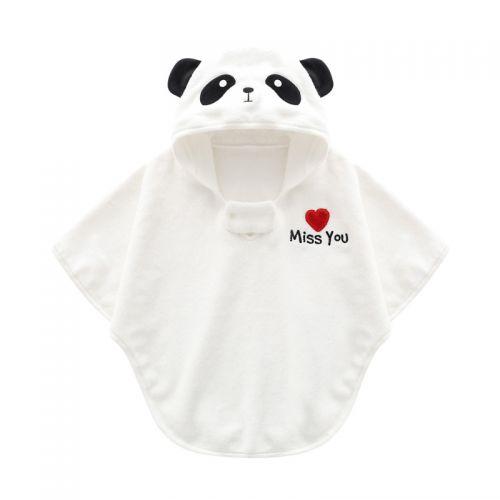 婴幼儿熊猫浴袍