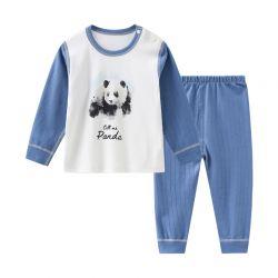 四季熊猫蓝套装