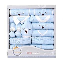 婴儿礼盒 四季眉豆熊