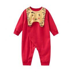 婴儿哈衣 四季小老虎