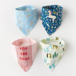 婴幼儿三角巾(4条装)
